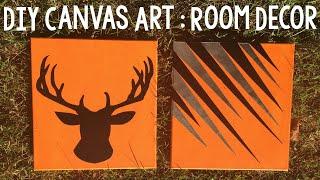 DIY Canvas Art DIY Room Decor