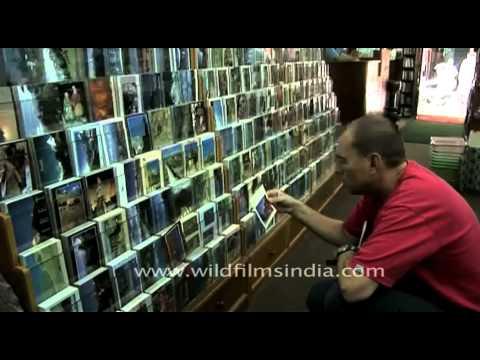 In the Pilgrims Bookstore at Kathmandu