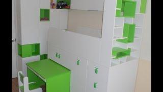 видео Детская мебель на заказ