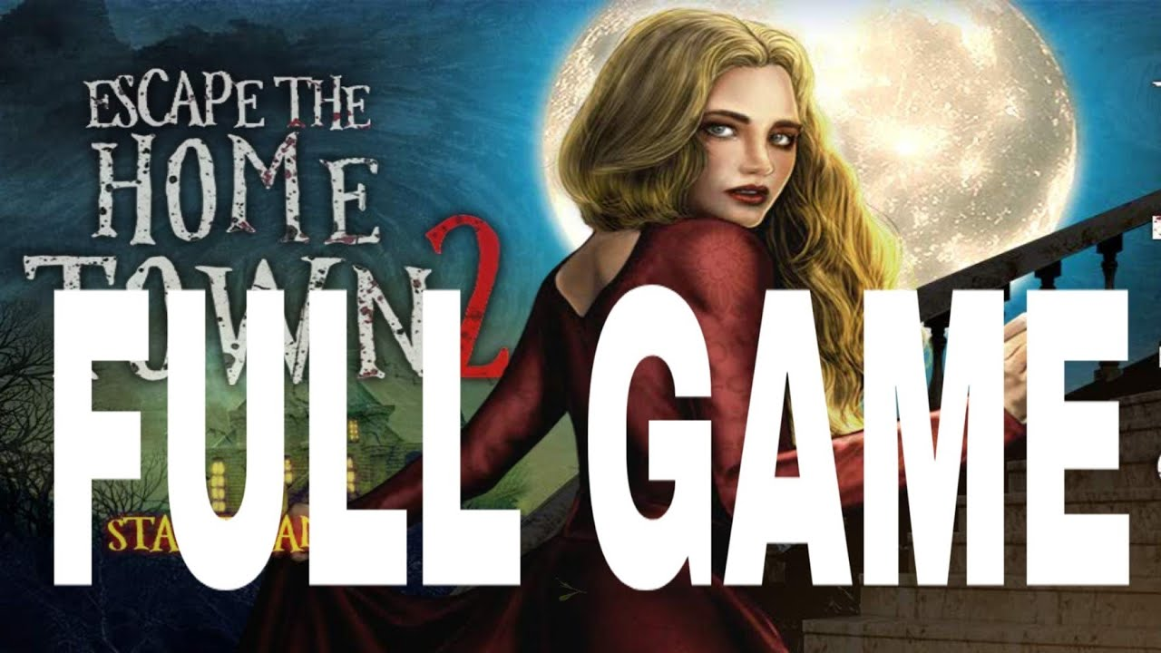 Escape Game Home Town Adventure 2 Walkthrough Full Game Youtube