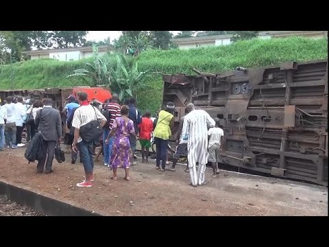 Death toll in Cameroon train crash hits 80 [no comment]