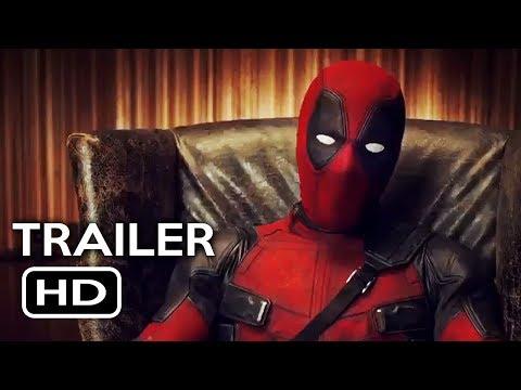 Deadpool 2 Official Teaser Trailer #3 (2018) Ryan Reynolds Marvel Movie HD
