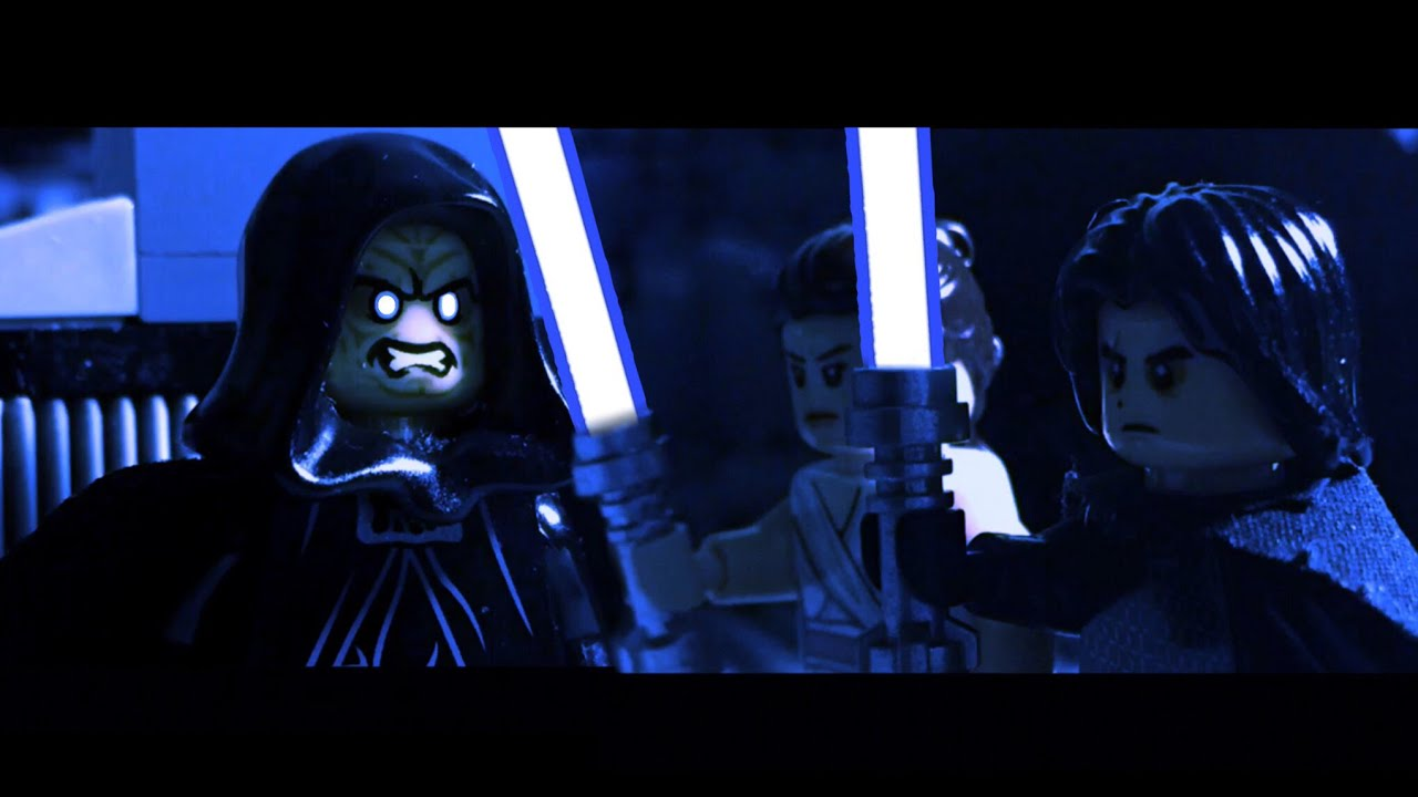 Lego Star Wars The Rise Of Skywalker Palpatine S Fight Scene Youtube