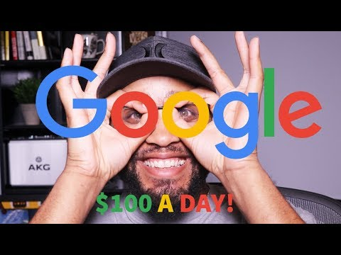 HOW TO MAKE $100 A DAY ONLINE FROM GOOGLE. (NEVER SEEN BEFORE!)