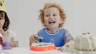 """Обзор «Набор кружек-непроливаек """"BabyBjorn"""", 100 мл, 2 шт, цвет: оранжевый, бирюзовый»"""