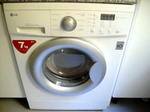 Lavadora lg wd 12702md youtube - Opinion lavadoras lg ...
