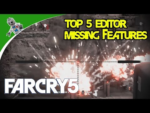 Top Five Missing Features of the Far Cry 5 Map Editor