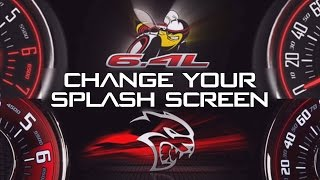zAutotech TaZer - Change Challenger Spash Screen to Scat Pack or HellCat