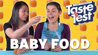 Adults Trying Baby Food TASTE TEST