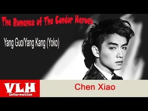 Chen Xiao Pemeran Yang Guo/Yang Kang (Yoko) dalam Film The Romance of The Condor Heroes