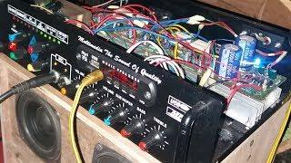 Kit power amplifier mini 300 wat baru beress