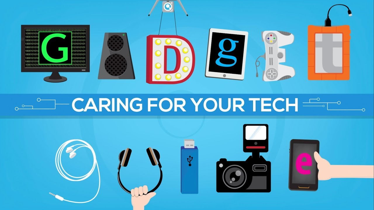 How to Clean & Take Care of Your Tech Devices | Quality Logo Products®