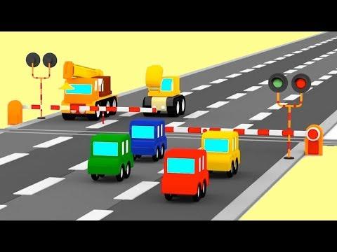 Make a CARTOON TRAIN! - Car Cartoons for Kids - Cartoon compilations for children