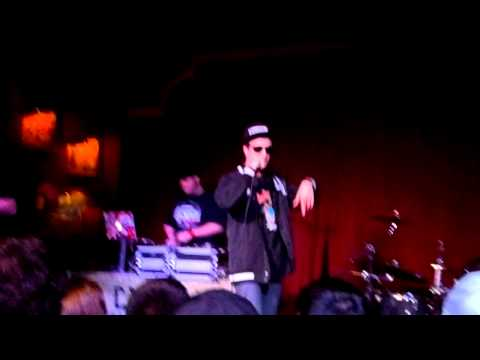 Chris Webby - Church (Intro) + Bounce (LIVE at House of Blues HOUSTON 3-14-12)