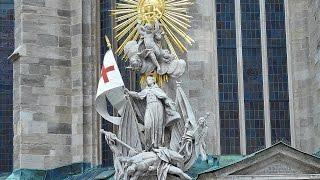 Вена. Собор Св. Стефана (экскурсия). Vienna. Cathedral of St. Stephen (excursion)(Католический собор святого Стефана является национальным символом Австрии и Вены. Собор расположен в цент..., 2016-02-25T07:46:32.000Z)