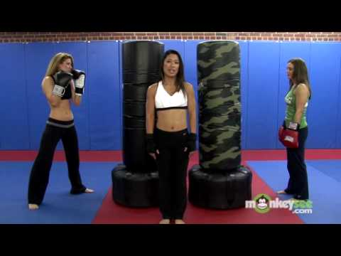 Beginners Kickboxing Bag Class - Jab and Cross