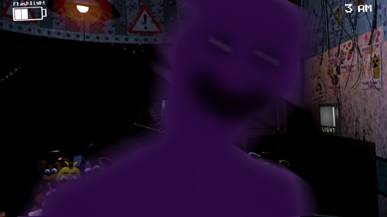 Purple guy jumpscare youtube
