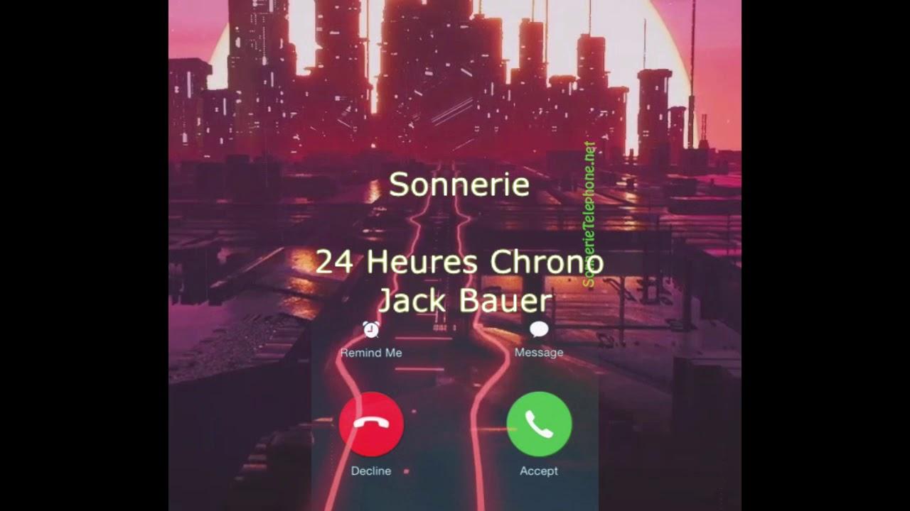 sonnerie telephone 24h chrono