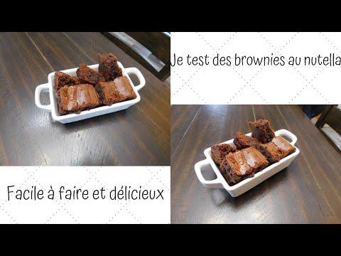 j'ai-testÉ-une-recette-de-brownies-au-nutella!-10/10