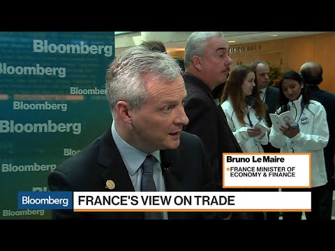 France's Le Maire Says West Should Engage China on Trade
