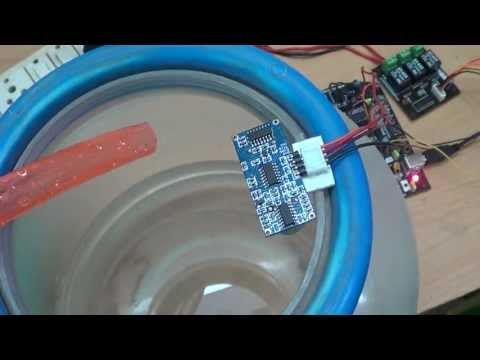 Automatic Water Level Controller using Microcontroller