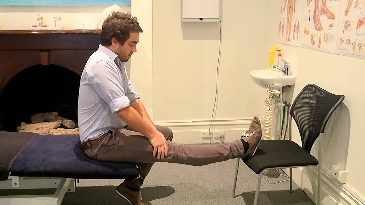 McKenzie Method Knee Extension  YouTube