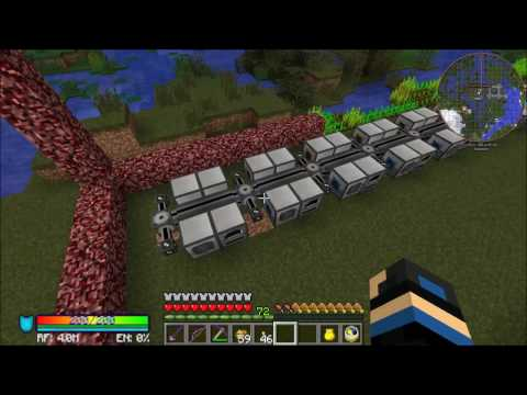 Modded Minecraft Season 2 Episode 12 Laying out the Ore Processing Center