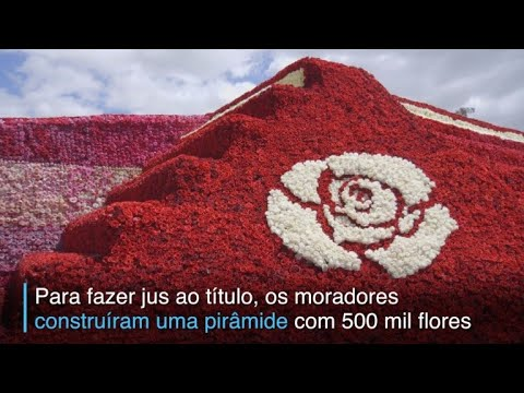 Flores monumentais