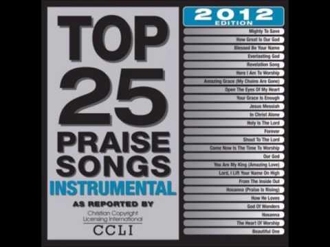 TOP 25 PRAISE SONGS INSTRUMENTAL 2012 CD1