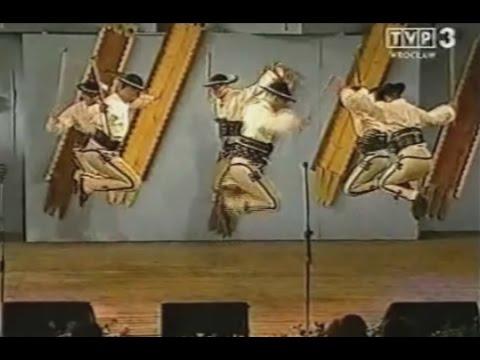 Taniec góralski zespół Regle z Poronina Polish Gorals' Dance and Music Hej Janicku Muzyka góralska