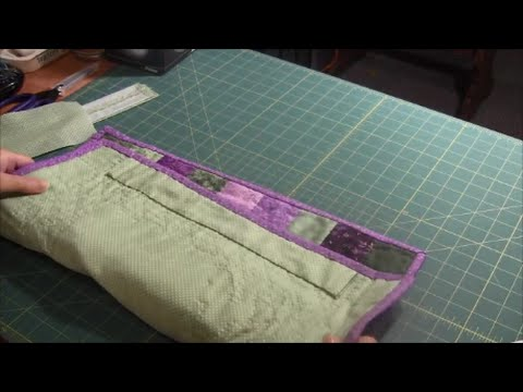 Hanging Sleeve - How to attach a quilt sleeve to a qult or wall ... : quilt hanging sleeve - Adamdwight.com