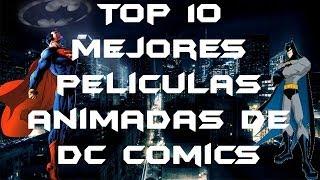 Top 10-Mejores películas animadas de DC Comics