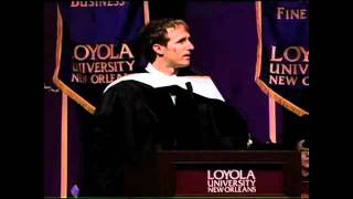 Drew Brees Commencement Speech at Loyola University New Orleans - 2010