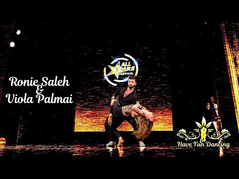 All Stars Festival dance performance by Ronie Saleh & Viola Palmai at Duna Palota (Danube Palace)