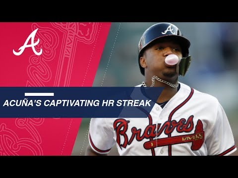 Ronald Acuna Jr.'s captivating home run streak