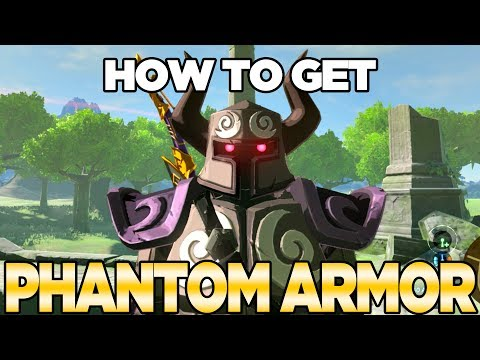 How To Get The Phantom Armor In Breath Of The Wild: Expansion Pass DLC Pack 1 | Austin John Plays