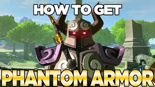 how to get the phantom armor in breath of the wild expansion pass dlc pack 1 austin john plays