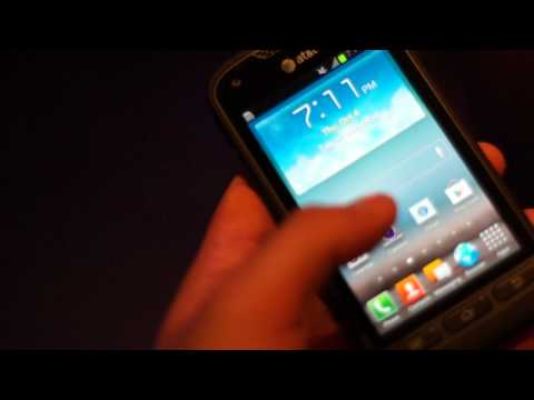 Samsung Rugby Pro hands-on