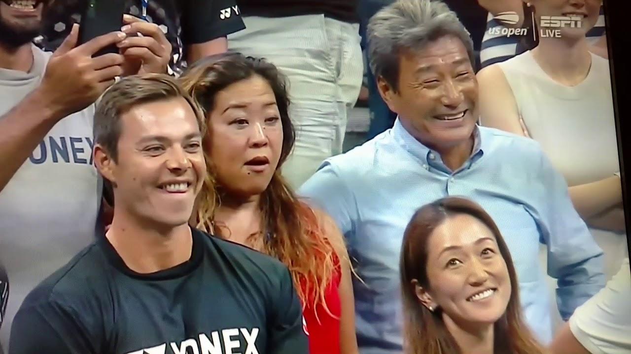 Francois Illas New Tradition: Naomi Osaka 大坂なおみ: Court Interview. 09.06.2018. Semi-Final