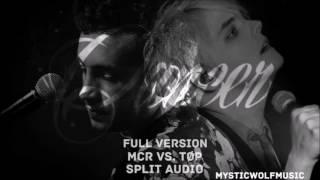 MCR vs. TØP - Cancer (FULL VERSION) (Split Audio)
