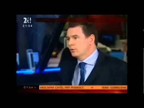 CBRE Czech Republic: Richard Curran Ekonomika ČT24 - 2006