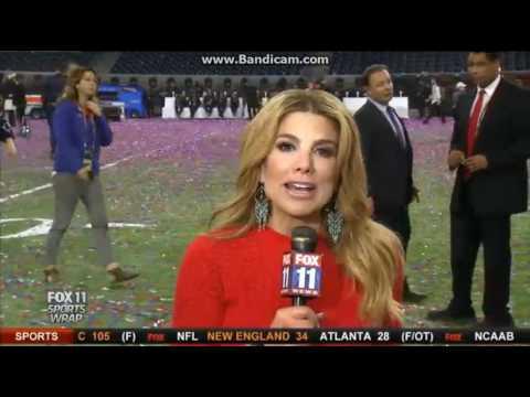 KTTV Fox 11 Sports Wrap open February 5, 2017