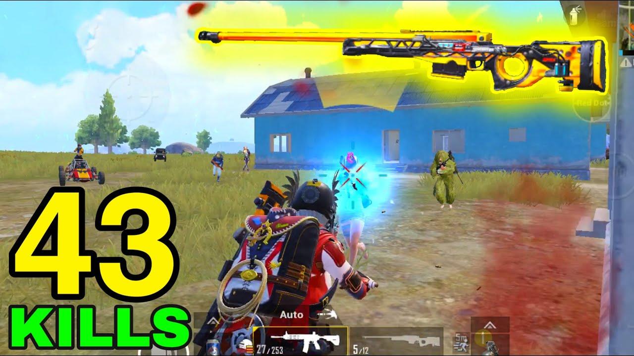 NEW WORLD RECORD in SEASON 15!!! | 43 KILLS vs SQUADS | PUBG MOBILE
