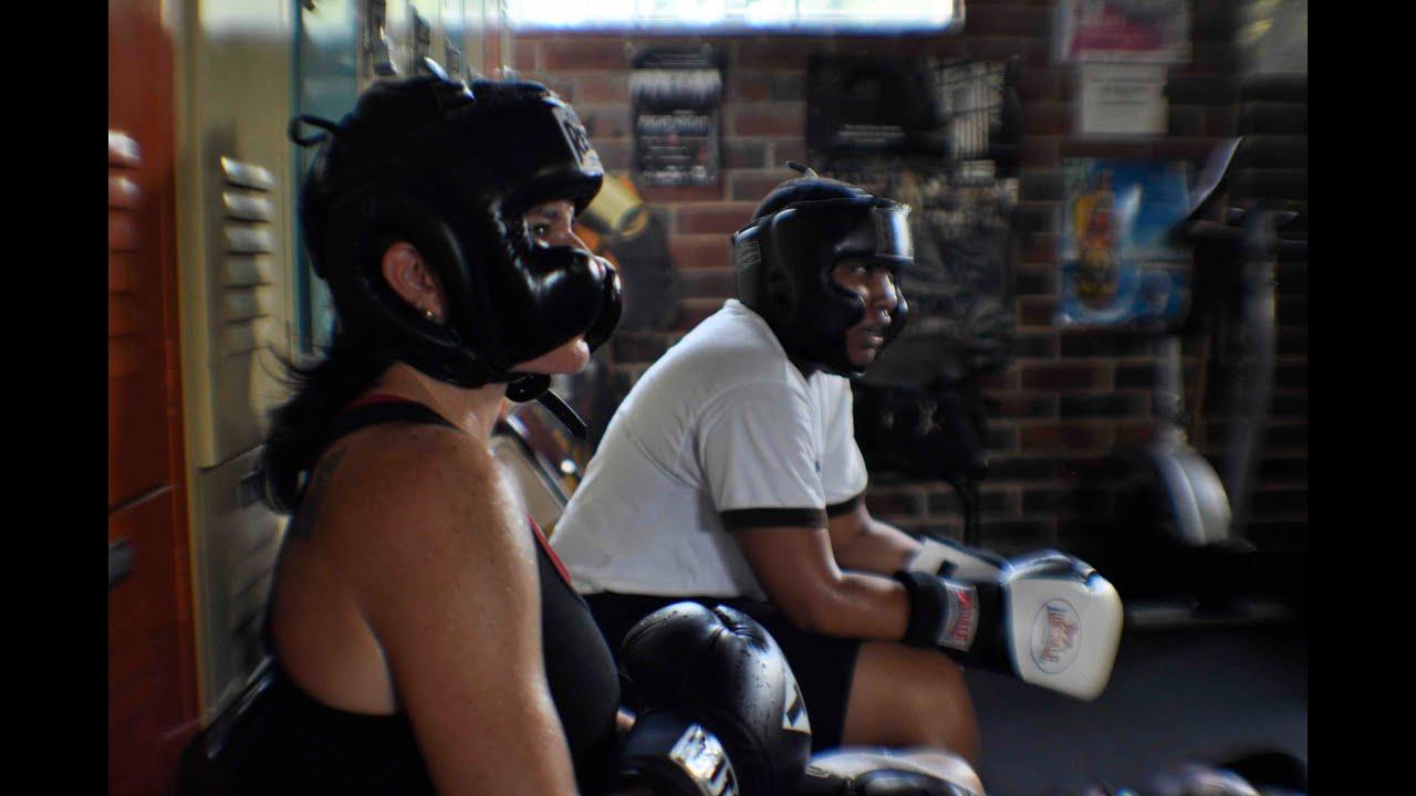 Boxing chicks