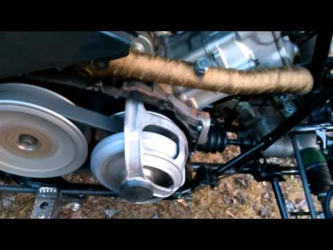 king quad 700 clutch noise - youtube