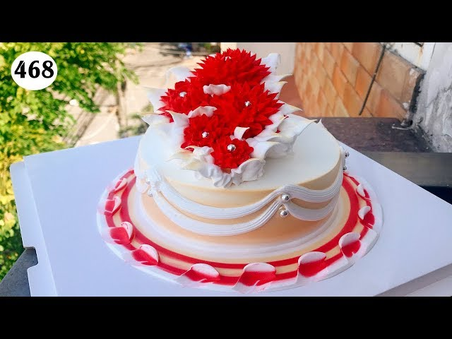 chocolate cake decorating bettercreme vanilla (468) Học Bánh Kem Đơn Giản (468)