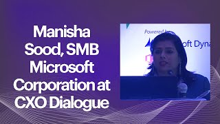 Manisha Sood  SMB Microsoft Corporation