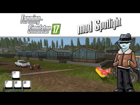 Farming Simulator 17 Mod Spotlight - Greenhouses Galore