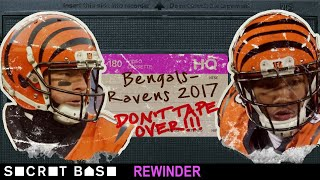 Andy Dalton's last-second chance to be the hero of Buffalo needs a deep rewind | Bengals-Ravens 2017