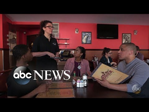 White waitress wants black diners to prepay for their meals l What Would You Do
